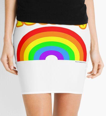 Totally Rainbow Logo Mini Skirt