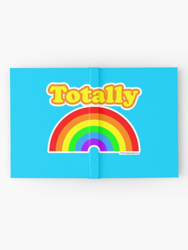 Alternate view of Totally Rainbow Logo Hardcover Journal