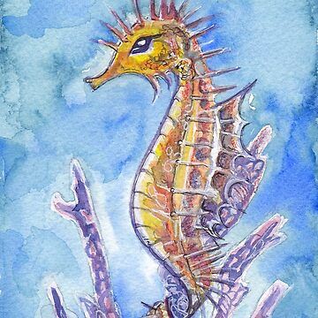 Seahorse by suzettemarieart
