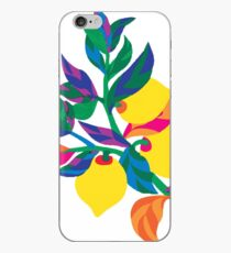 Lemon Abstract Print iPhone 6 Case iPhone Case