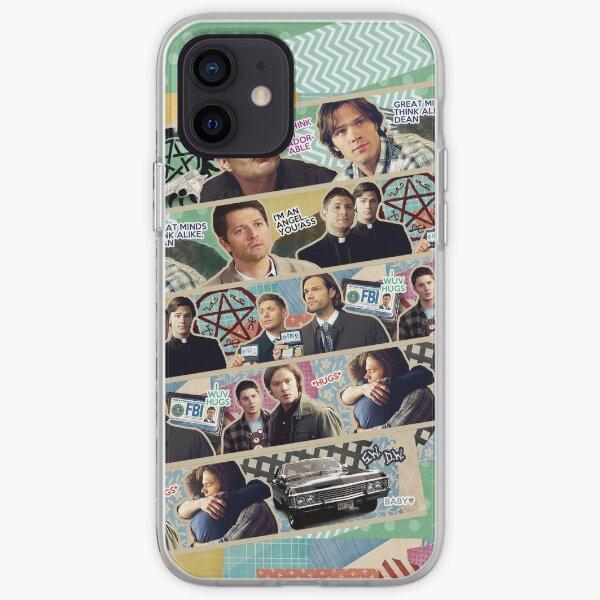 Supernatural Washi Tape iPhone Soft Case
