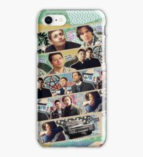 Supernatural Washi Tape iPhone Case/Skin