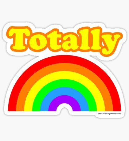 Totally Rainbow Logo Sticker