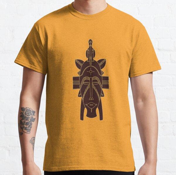 Djimini Mask brown - Ivory Coast Classic T-Shirt