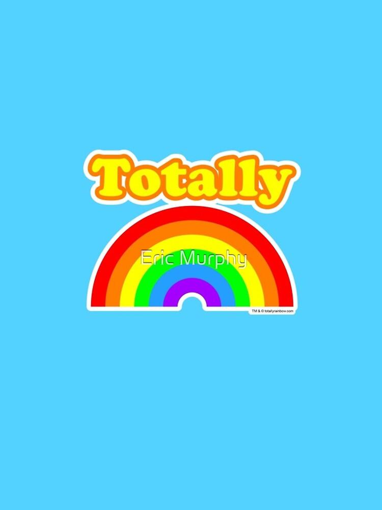 Totally Rainbow Logo by sadmachine