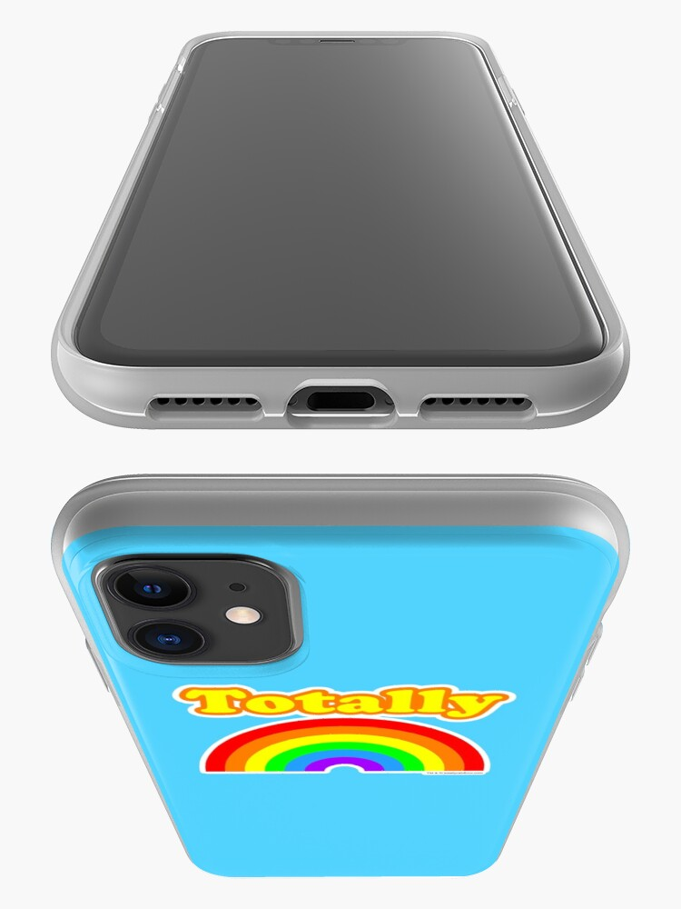 Alternate view of Totally Rainbow Logo iPhone Case & Cover