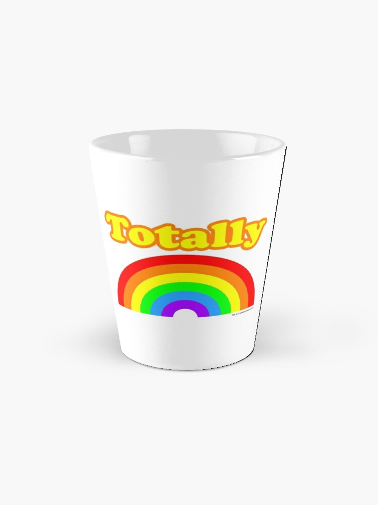 Alternate view of Totally Rainbow Logo Mug