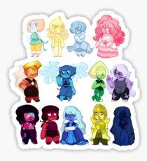 Steven Universe Gems Sticker
