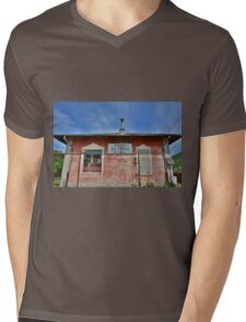 Casa Cantoniera at Soravilla Mens V-Neck T-Shirt