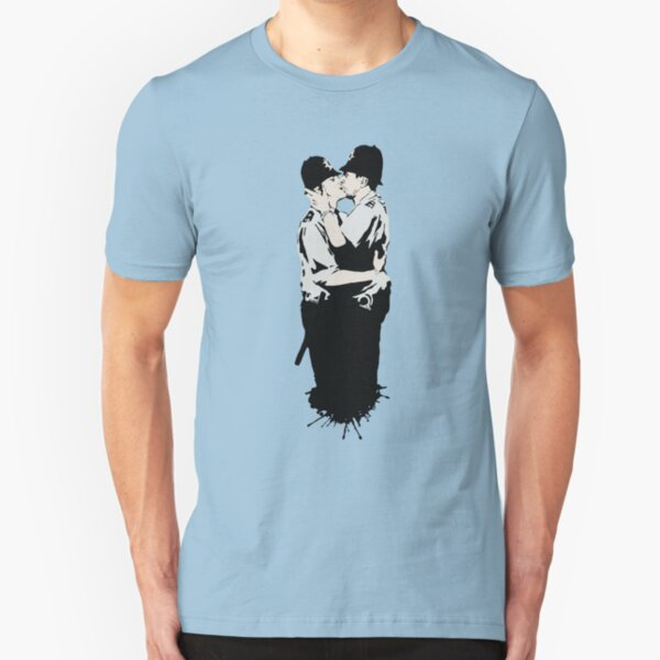 Kissing Coppers Slim Fit T-Shirt