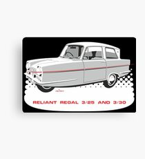 Reliant Regal 3/30 and 3/25 saloon Canvas Print