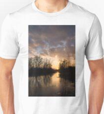 Winter Sunset - Lake Ontario, Toronto, Canada T-Shirt