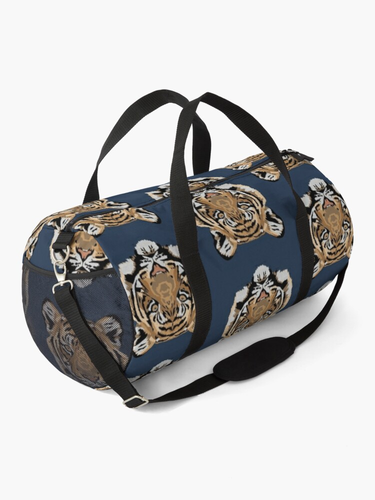 Alternate view of Tiger Face Duffle Bag