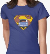 Reliant Regal Supervan  Womens Fitted T-Shirt