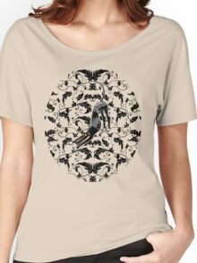 Arts & Crafts Bowdown Hound Women's Relaxed Fit T-Shirt