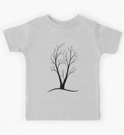 A Two-trunked Tree Kids Clothes