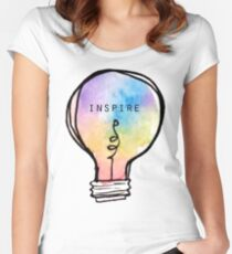 Inspire Women's Fitted Scoop T-Shirt