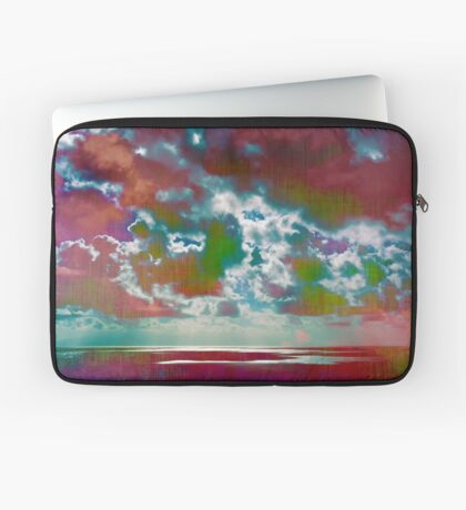 Pink Seas and Clouds Laptop Sleeve