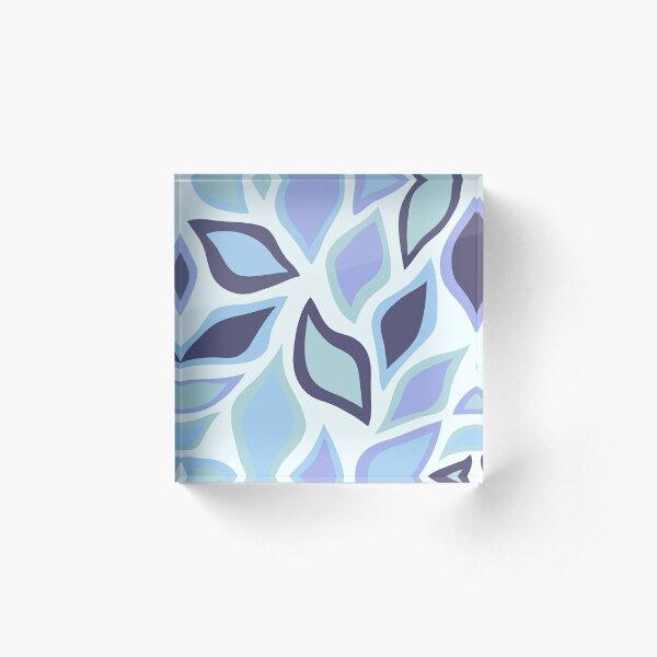 Blue Fall Acrylic Block