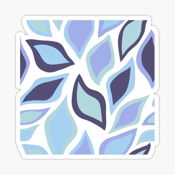 Blue Fall Sticker