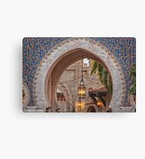 Welcome to the Kasbah Canvas Print
