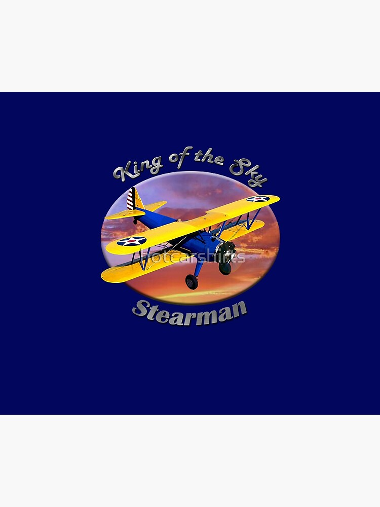 Stearman Biplane King Of The Sky by hotcarshirts