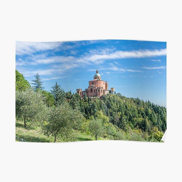 San Luca Sanctuary, Bologna, Italy Poster
