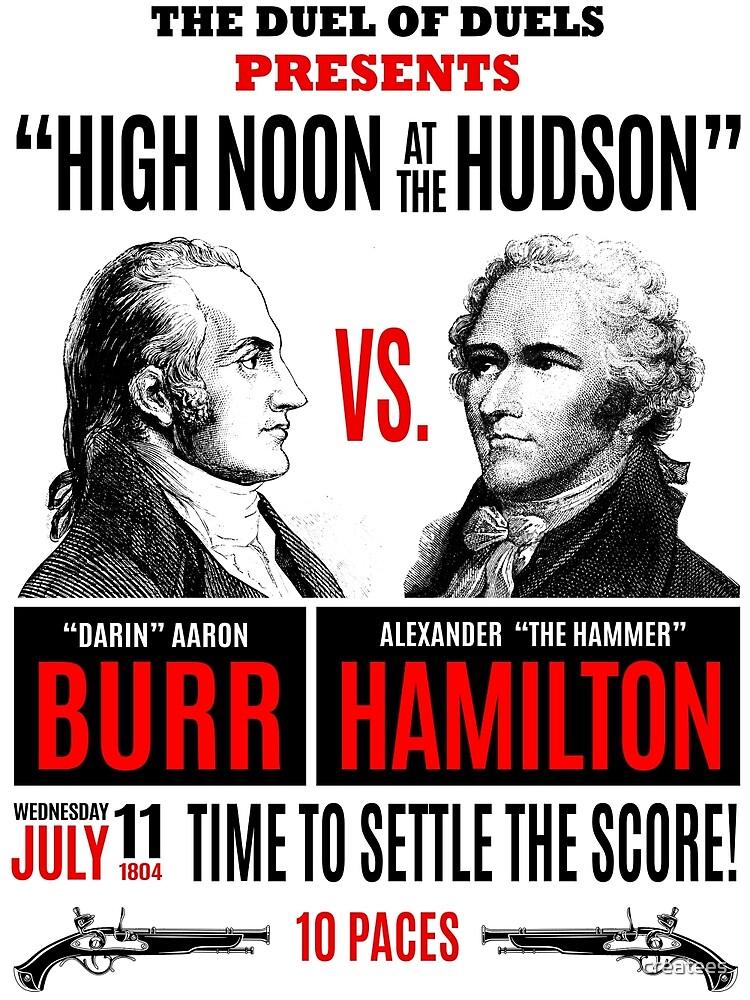 Burr vs Hamilton History by createes