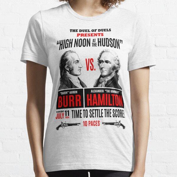 Burr vs Hamilton History Essential T-Shirt