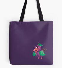 Plum Bird Tote Bag
