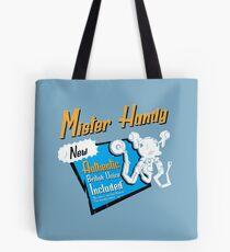 Mr. Handy - Beschädigt Tote Bag