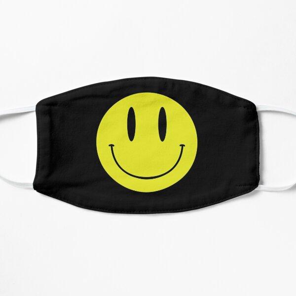 ACID MAN SMILEY FACE EMOJI  90's Rave 80's Acid House Grunge  Flat Mask