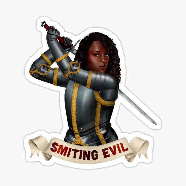 Paladin: Smiting Evil Sticker