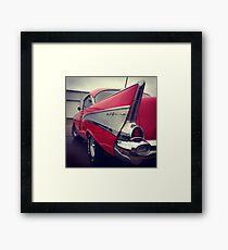 Classic Chevrolet Belaire Framed Print