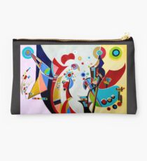 Waxing Wassily, by Alma L Studio Pouch