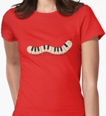 Caterpiano Women's Fitted T-Shirt