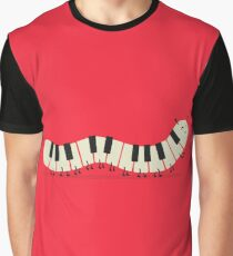 Caterpiano Graphic T-Shirt