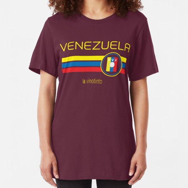 Venezuela Text Venezolana Pride Orgullo Fútbol Béisbol Mens T-shirt