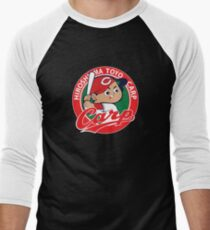 Hiroshima Toyo Carp Men's Baseball ¾ T-Shirt