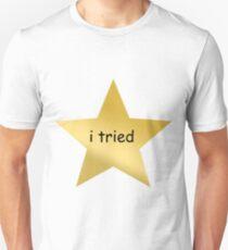 I tried star - atleast i tried T-Shirt