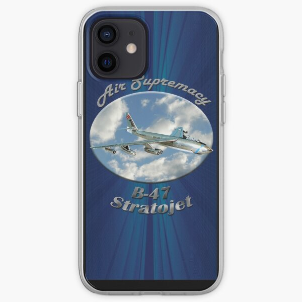 B-47 Stratojet Air Supremacy iPhone Soft Case