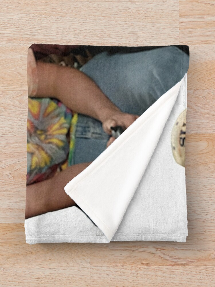 Alternate view of the crew Throw Blanket