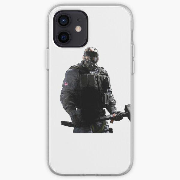 Rainbow six siege sledge Coque souple iPhone