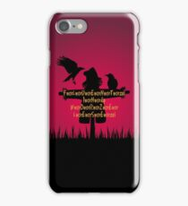 Fluent in Worzelese iPhone Case/Skin