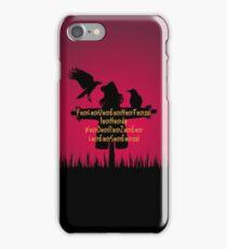 Fluent in Worzelese iPhone Case/Skin