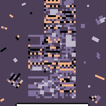 A Wild Missingno. appeared! by peejaydesign