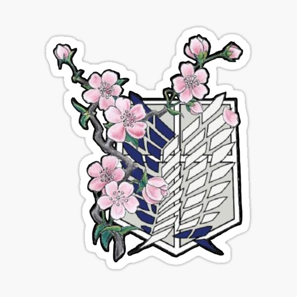 AOT - Wings Of Freedom Sticker