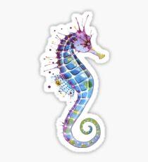 Seahorse - Purple Sticker