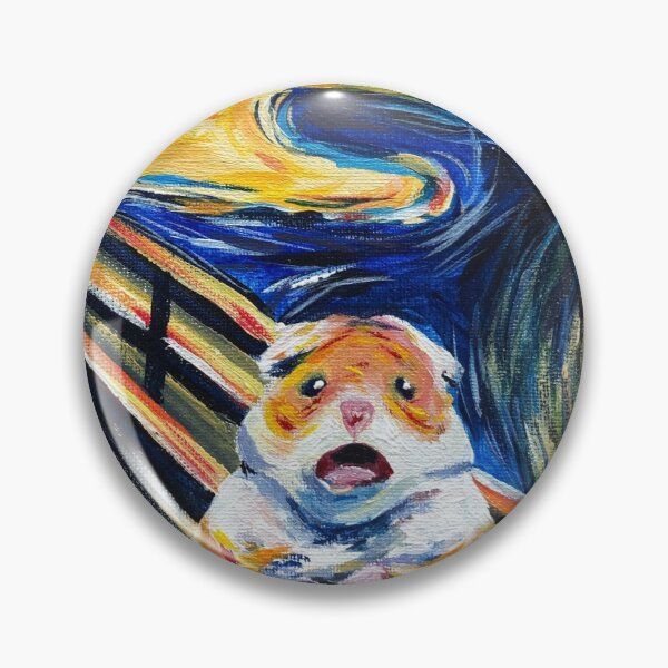 The Screaming Hamster Pin