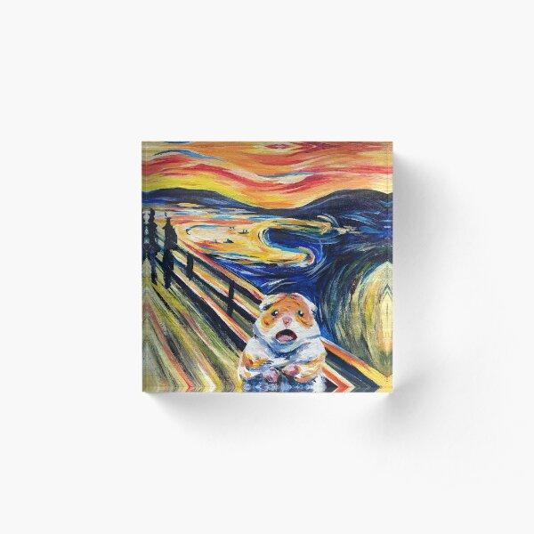 The Screaming Hamster Acrylic Block